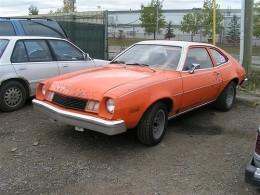 1970 era Ford Pinto.   My nemesis!