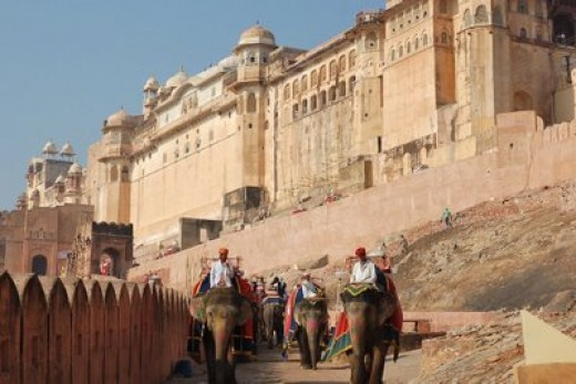 Magnificent Amber Fort, Jaipur - the Pink City & the Capital of Rajasthan
