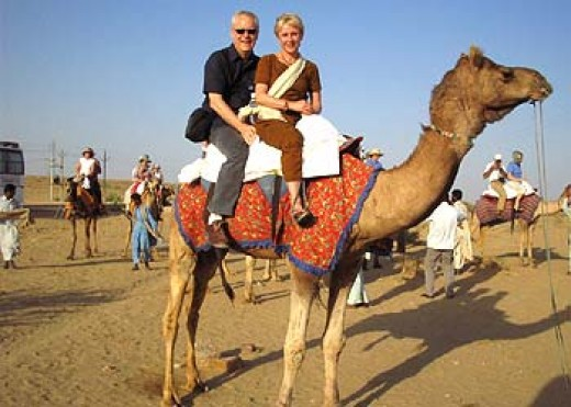 Camel Safari - Don't miss opportunity to enjoy camel safari on your Rajasthan tours & travel. Definitely Camel Safari is a delight for every tourist visiting Rajasthan, India.