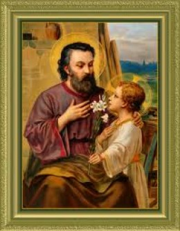 St Joseph was the stepfather of Jesus. He had also many dreams and visions that helped him to avoid dangerous situations, all this is written in the Bible and other religious books.