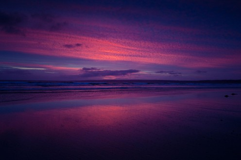 Sunset in Victoria Australia