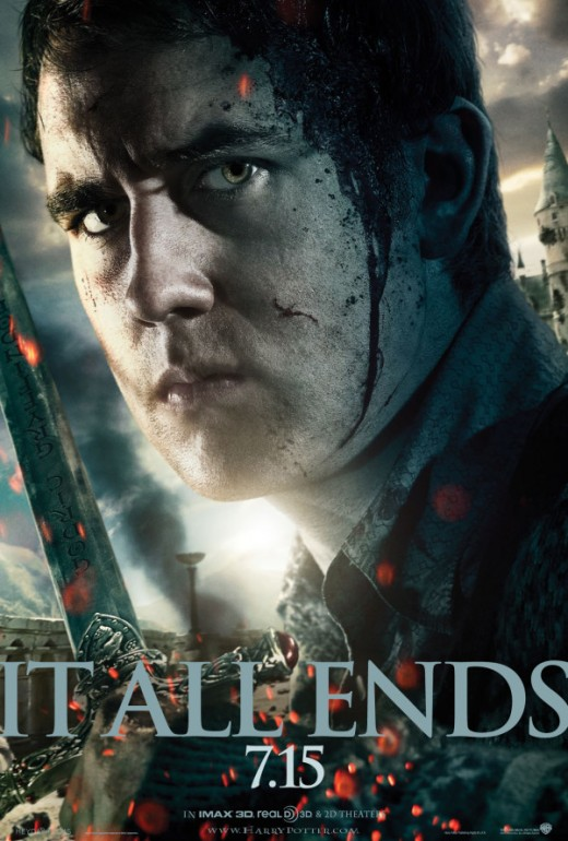 Movie Poster featuring Neville Longbottom