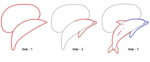 Create the basic shapes as given here and then construct the remaining details over the given guideline.
