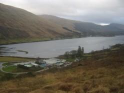 View of the Head of Loch Fyne, Argyll, Scotland
