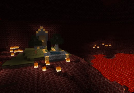 how to create a nether portal in minecraft