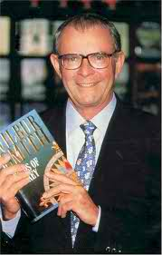 Wilbur Smith, author of Hungry As The Sea