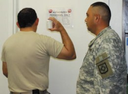 Military Drug Test in Action