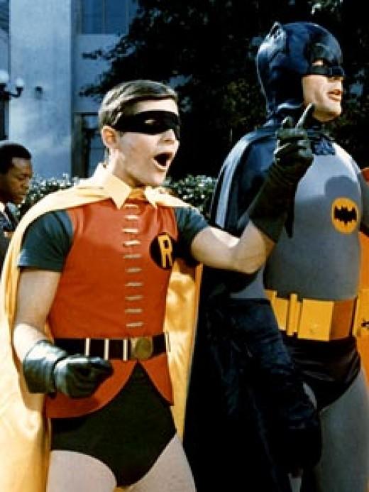 Batman's expression says it all.