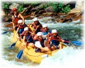 White Water Rafting - Dangerous Ride