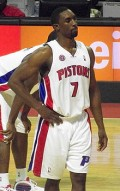 Ben Gordon - Professional NBA basketball player and only player to receive the NBA Sixth Man of the Year Award as a rookie