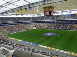 Commerzbank Arena, the venue for the finals of the 2011 FIFA Women's World Cup seats roughly 50,000 spectators