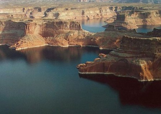 Lake Powell offers scenic beauty and miles of boating excitement.
