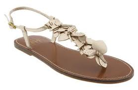 Embellished sandals like these can work to keep an outfit casual or dress them up a notch.