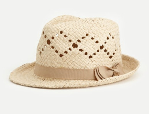 Hats with vents help keep you shaded in cool on a sunny day. Find a neutral color for frequent wear.