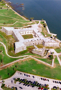 Castillo de San Marcos National Monument.