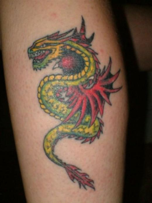 My Unicorn Tattoo that Animal Smartened Up.