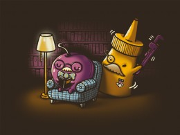 """""""In the Library with the Wrench"""" by kevlar51 & walmazan"""