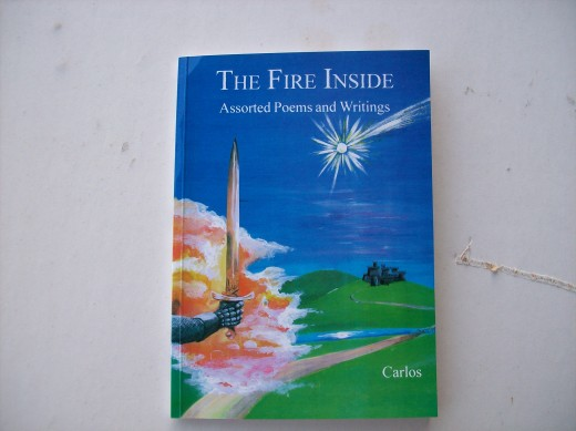 Book Cover for the Fire Inside,