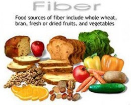 High fiber food is good cancer treatment