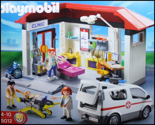 Learning Process in Playmobil Hospital
