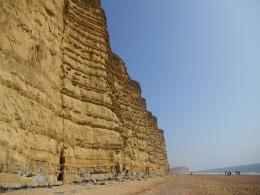 The cliffs at West Bay, Bridport, Dorset