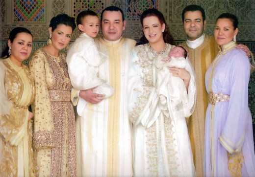 The family of King Muhammad VI - The King vastly improved women's rights in Morocco. Her Royal Highness Lalla Salma (the Queen Consort) is the first wife of a Moroccan king to be officially recognized and given a official title.
