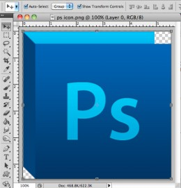 Resize Image in Photoshop-Step 2