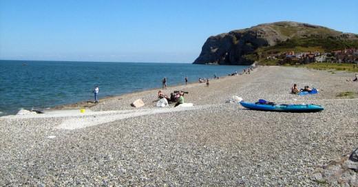 On the Beach at Llandudno Wales