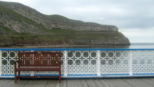 Llandudno Pier Wales UK