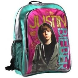 justin bieber backpack