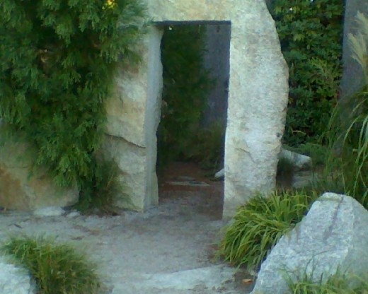 doorway to mystery and intrigue