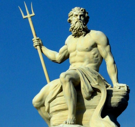 Neptune - the god of the sea