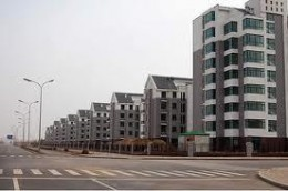 Abandoned city in China due to combined corporate/government mismanagement. It's hard to find real estate buyers when you're competing around the world for the lowest possible wages. . .