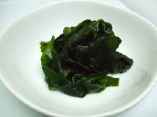 Boiled Wakame