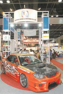 Motor Show in Singapore