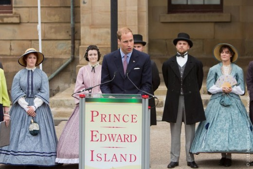 Remarks by His Royal Highness, the Duke of Cambridge outside the Province House in Charlottetown, PEI