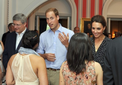 The Duke and Duchess attended a barbeque in honour of youth volunteers at Rideau Hall