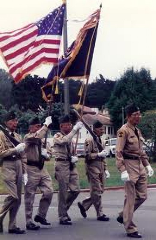 Fil-Am vets on parade