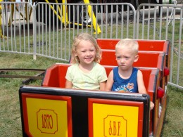 Amusement rides are fun for all ages
