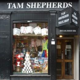 Tam Shepherds Trick Shop in Glasgow