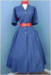 Great Blue Shirtdress