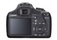 Canon Rebel 1100D - rear view
