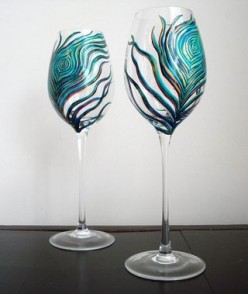 Hand Painted Wine Glasses: Unique Gifts For Wine Lovers