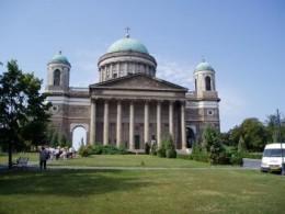 Esztergom Cathedral near Budapest