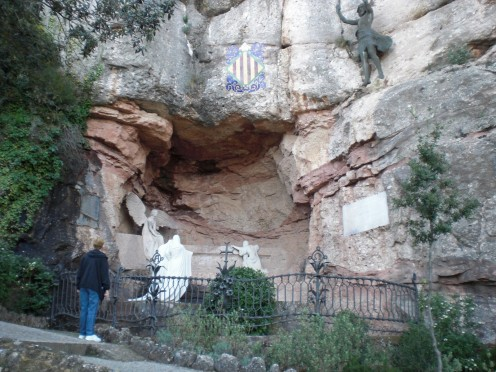The Grotto where, once upon a time, children witnessed a heavenly experience and heard the voices of angels.