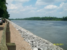 Pittsburg Landing on the Tennessee River enabled the Union to reinforce its Army for the second day of battle.
