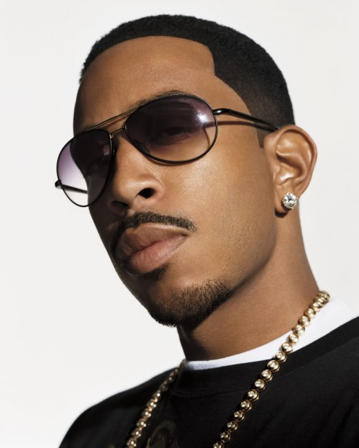 Ludacris fade hairstyle.