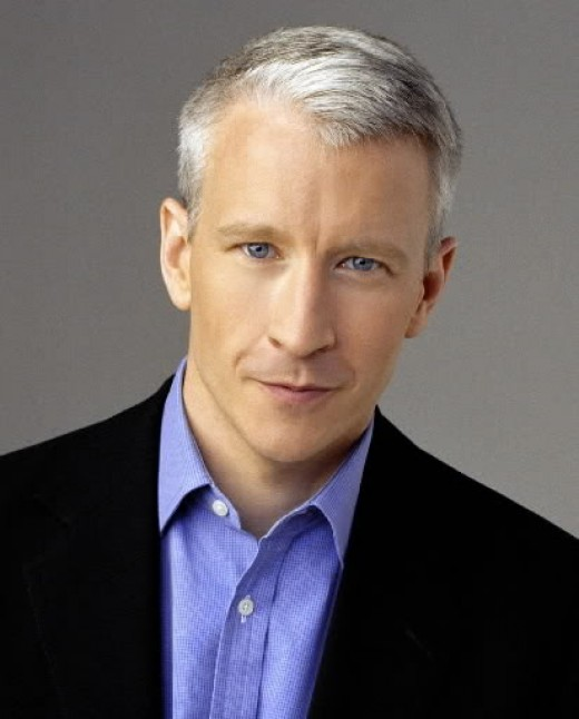 Anderson Cooper ivy league hair.