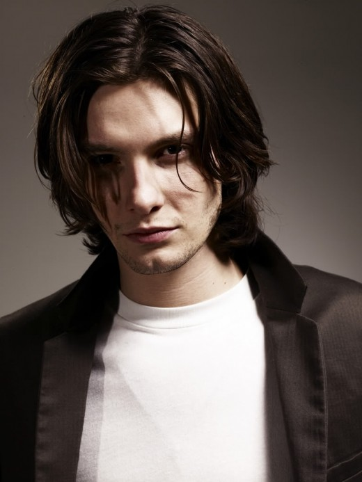 Ben Barnes hairstyle.