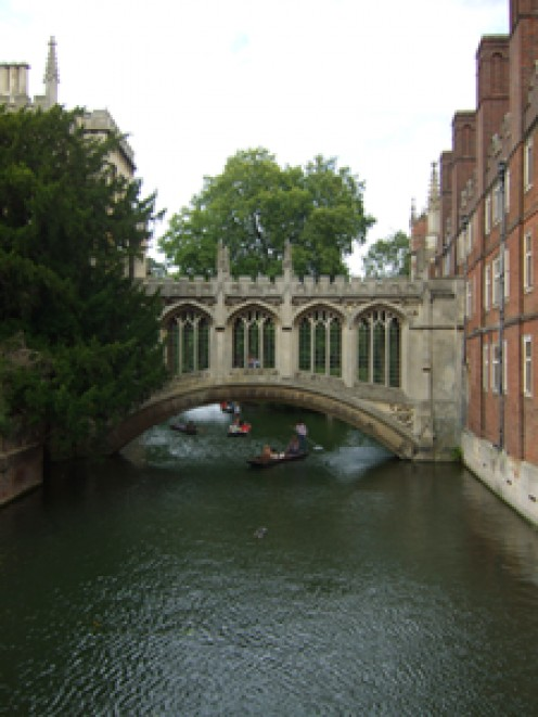 The Bridge of Sighs, Cambridge